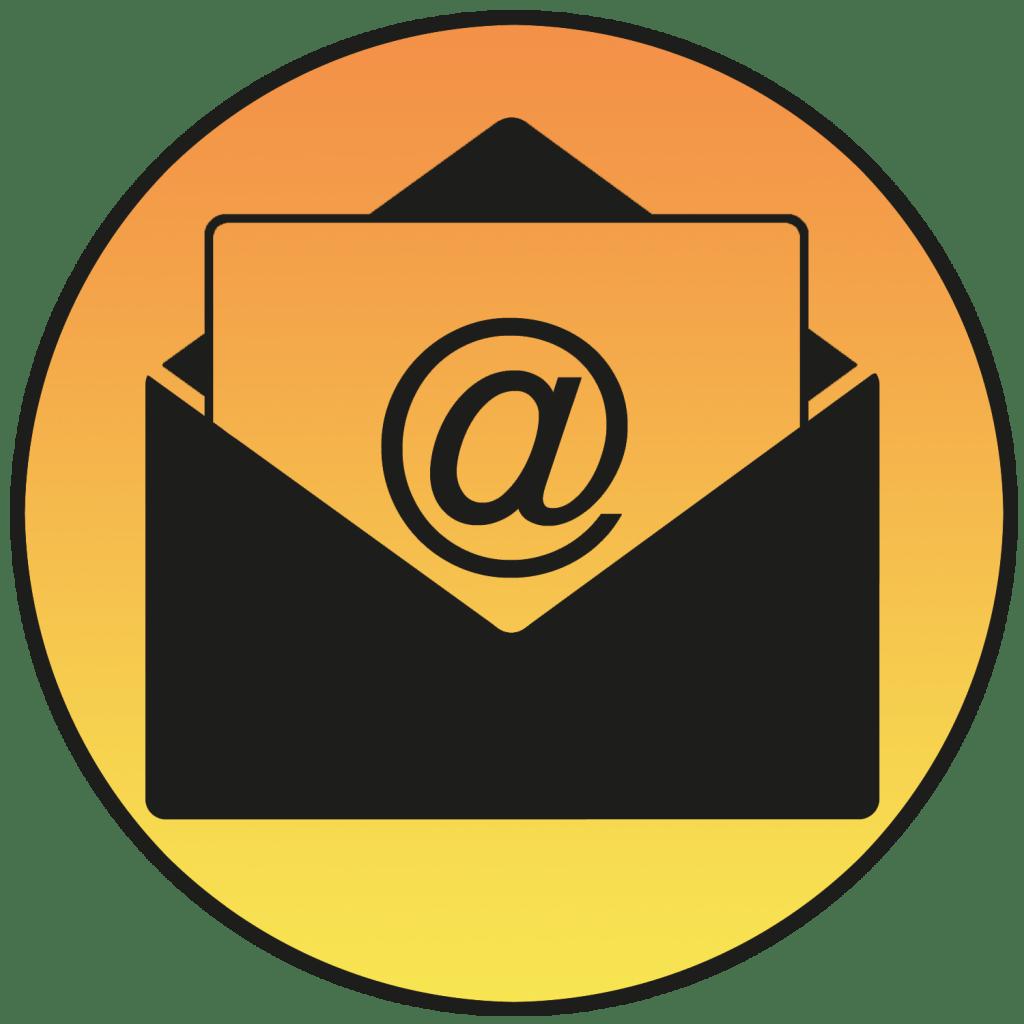 bouton mail grey